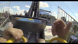 Ring of Fire Midway Carnival Ride with GoPro Hero3 Black Edition Camera