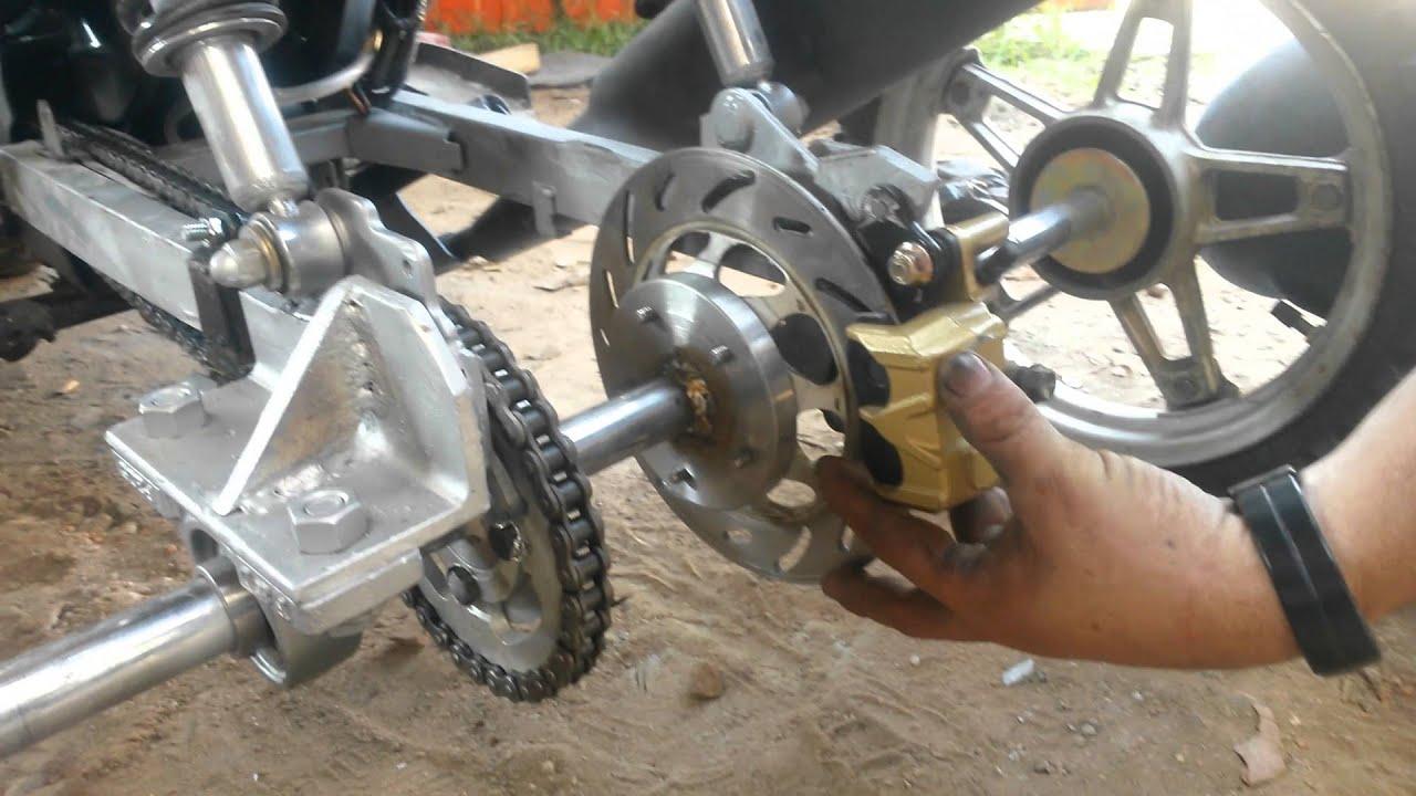Motocicleta Para Discapacitados Youtube