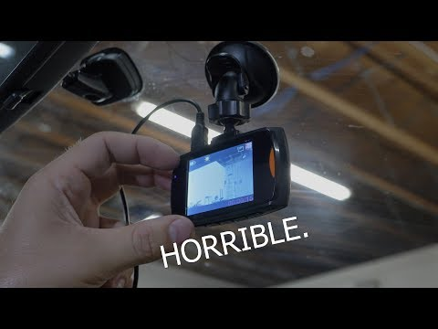 How BAD Is The $9 Dash Cam From Walmart? | Rob Dahm