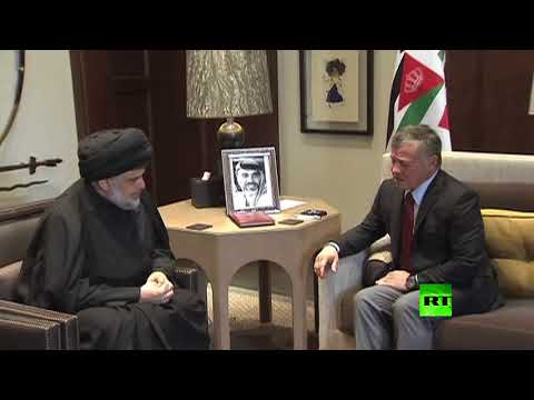 لحظة لقاء مقتدى الصدر والملك الأردني عبدالله الثاني  - نشر قبل 2 ساعة