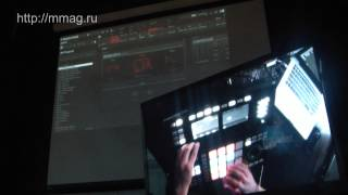 mmag.ru: Maschine Studio review & demo part 4 - Native Instruments presentation