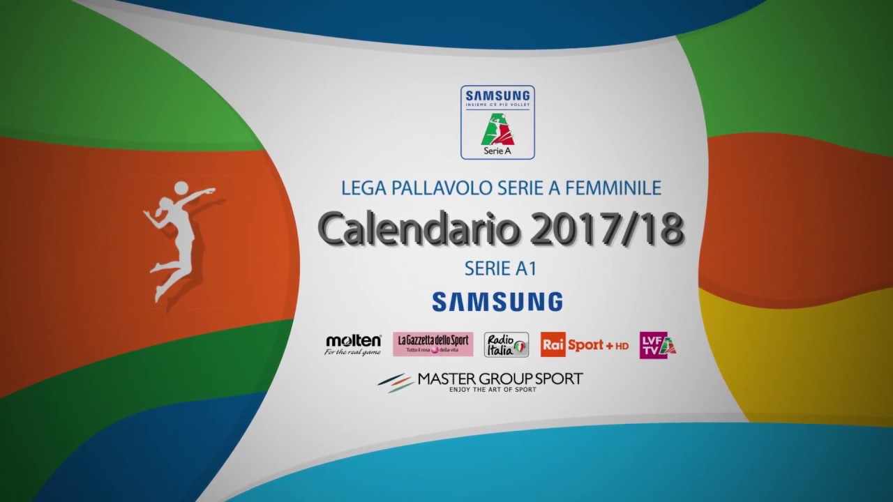 Lega Volley Calendario.Calendario Serie A1 2017 18