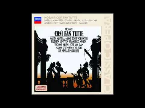 Mozart, Cosi Fan Tutte, Marriner