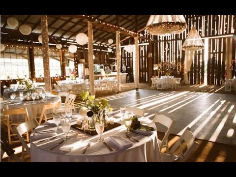 Rustic Barn Wedding Decoration Ideas  YouTube