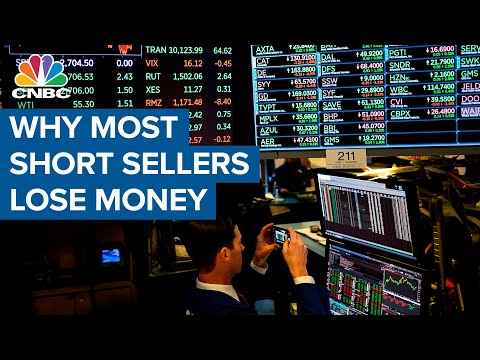 Why most short sellers lose money