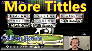 [PS2]Earning more Titles in Gallop Racer 2006