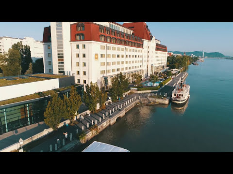 Hilton Vienna Danube Waterfront Drone Video