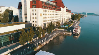 Discover Hilton Vienna Danube Waterfront - Drone V...