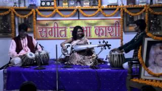 Sudeshna Bhattacharya - Sarod - Concert Varanasi