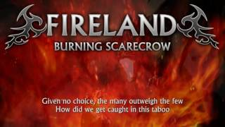 Fireland - Burning Scarecrow (Lyrics) [Heavy Metal from Northern Ireland]