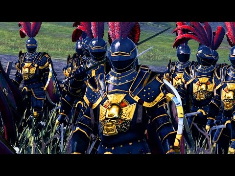 MASSIVE BATTLE - THE EMPIRE VS BRETONNIA -...