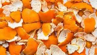 10 usi alternativi delle bucce d'arancia