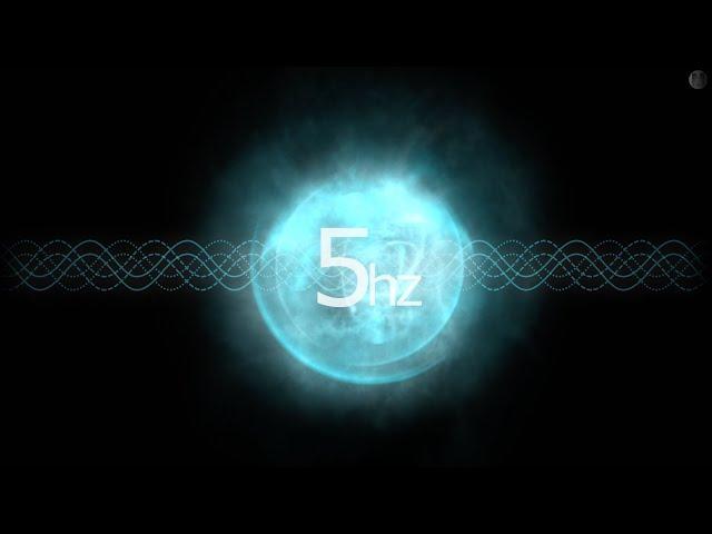 Theta Brain Waves 5hz ⎜ Relaxing Binaural Beats for Sleep ⎜ 2 Hours Brainwave Entrainment