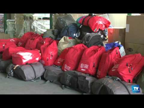"""Sakado offre des """"sacs cadeaux"""" depuis 10 ans aux sans-abri :"""