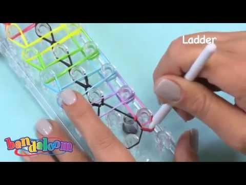 Плетение из резиночек видео уроки плетение на станке