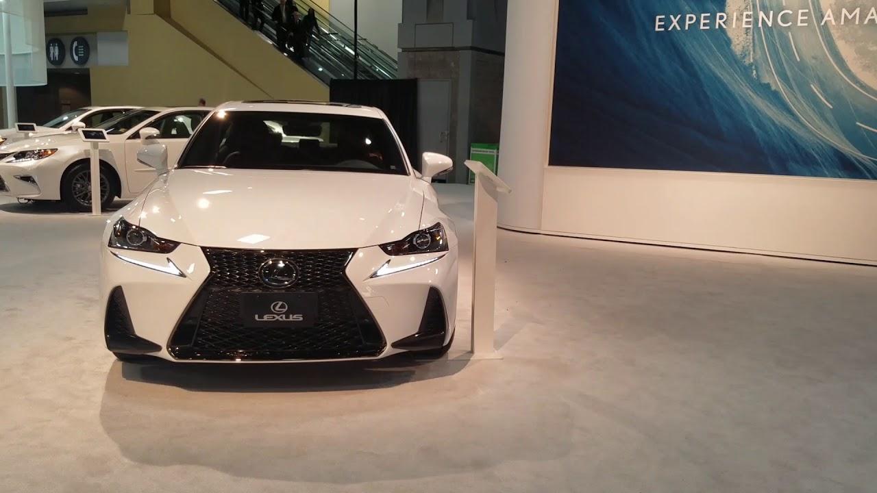 2019 Lexus Is350 F Sports Awd 2018 Washington Auto Show Youtube
