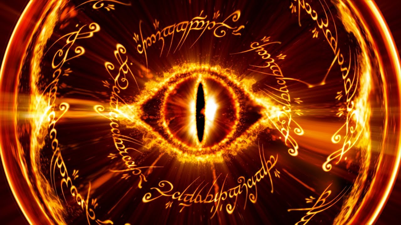 The Lord Of The Rings Sauron Eye