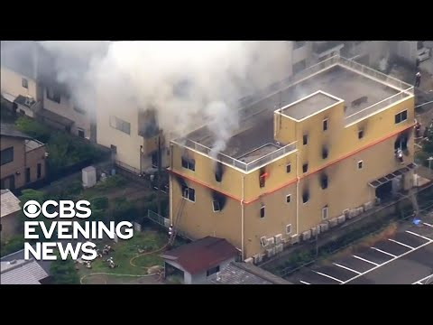 33 killed in fire at animation studio in Japan - News