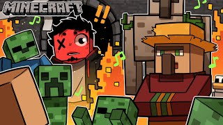 THEY THREW A PARTY AT CASTLE TOONZ WHILE I WAS GONE!? | Minecraft