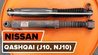 Como mudar Calços de travão NISSAN QASHQAI / QASHQAI +2 (J10, JJ10) - vídeo grátis online