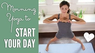 Video Morning Yoga - Yoga To Start Your Day! download MP3, 3GP, MP4, WEBM, AVI, FLV Maret 2018