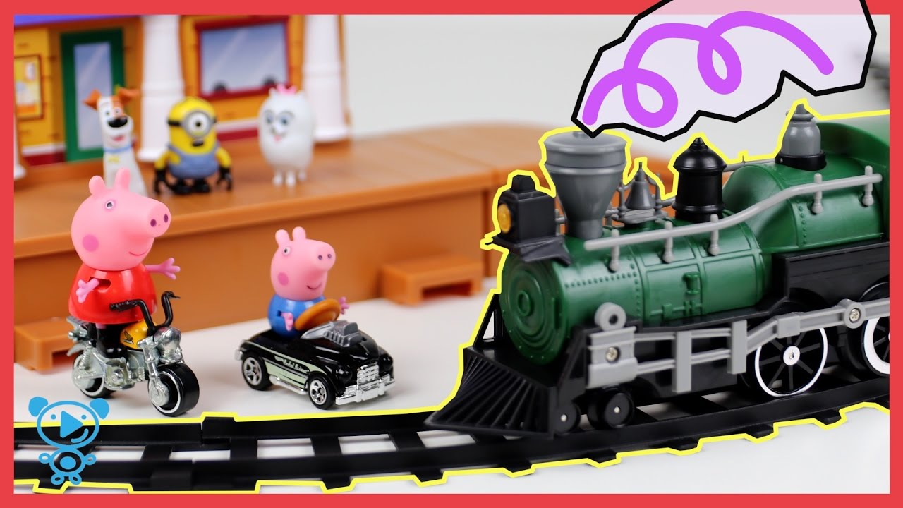 Trains For Children Train Set Toys Review Video For