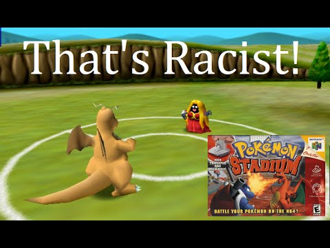 Hidden Racism In Pokemon Stadium Nintendo 64