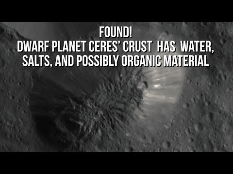 This planet has water, salts, and possibly organic material!