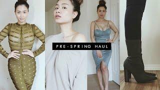 Fashion Nova Pre-Spring Haul 2017 | HAUSOFCOLOR