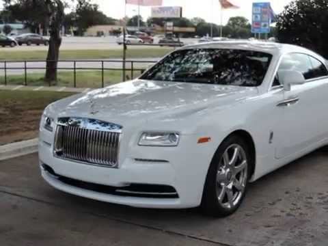2014 Rolls-Royce Wraith Inside And Out Overview White ...