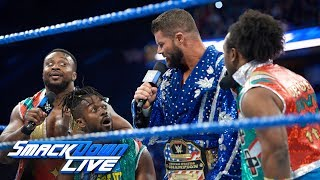 Bobby Roode & The New Day vs. Jinder Mahal & Rusev Day: SmackDown LIVE, Jan. 23, 2018