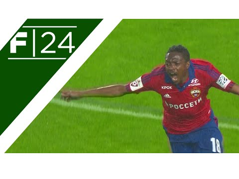 Highlights | CSKA Moscow 2-0 Krasnodar