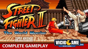 🎮 Street Fighter 2 (SNES) Complete Gameplay