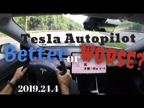 tesla-autopilot- -is-it-getting-better-or-worse?-the-newest-software-2019.24.4