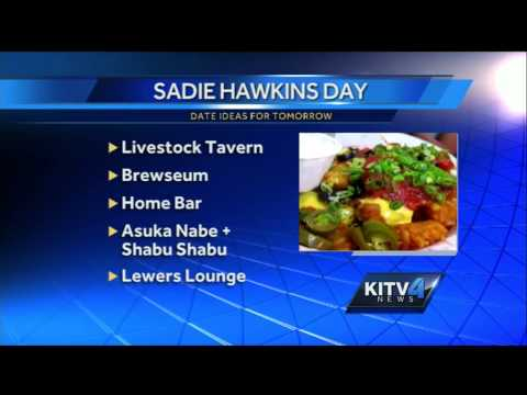 Great Date Ideas For The Ladies To Prepare For Sadie Hawkins Day