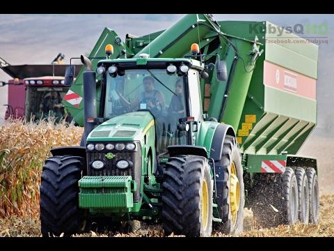 John Deere 8530 & Bergmann GTW 430 | John Deere in Action | Agriculture