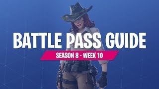Saison 8 Semaine 10 Battle Pass Challenges avec FortniteMaster (Fortnite Battle Royale)