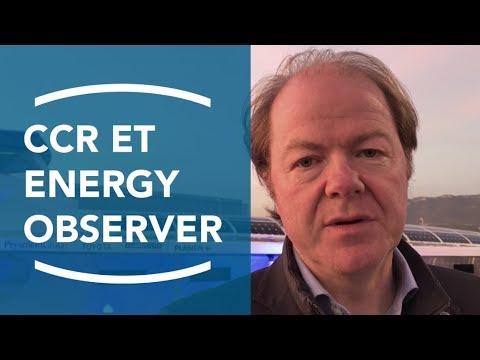 Bertrand Labilloy à propos du soutien de CCR Groupe à Energy Observer 1/2
