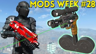 Fallout 4 TOP 5 MODS Week #28 - ASSAULT SUIT, P99, CHINESE ASSAULT RIFLE