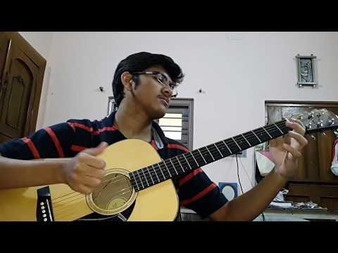 SANAM RE(Arijit Singh)--acoustic Cover By Soumyajit Pyne.