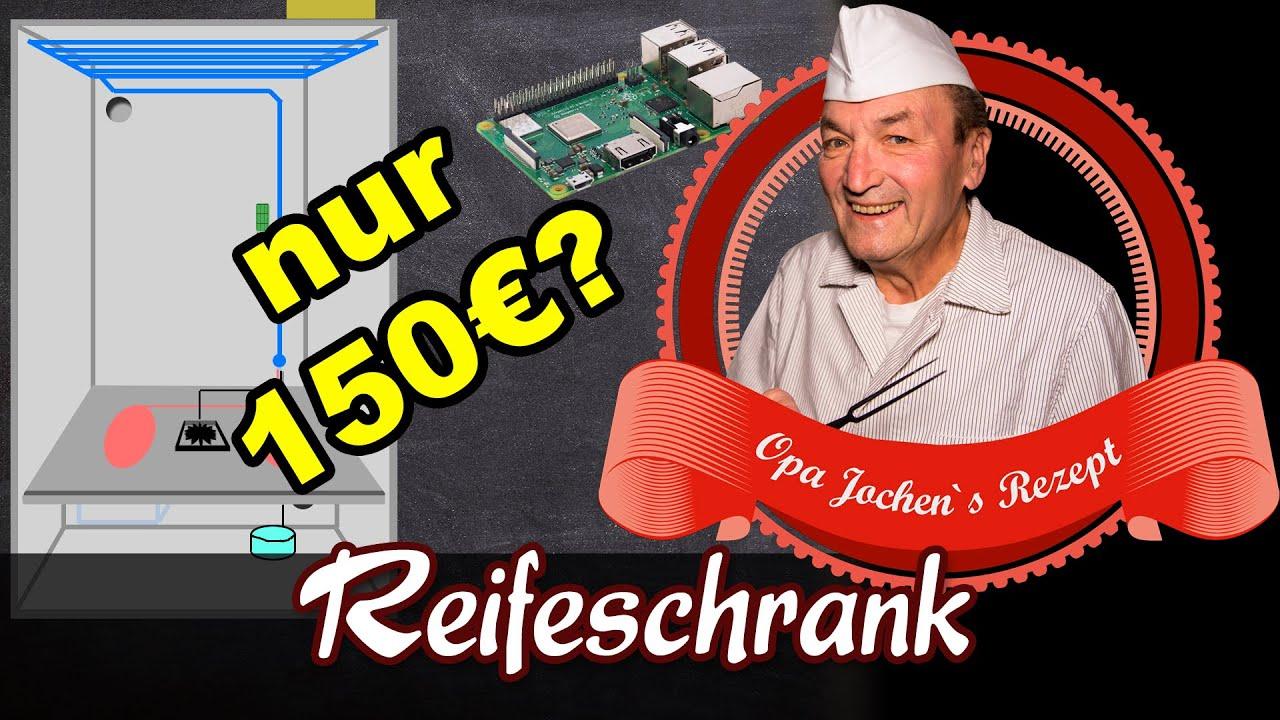 Eigenbau Reifeschrank Fur 150 Ideal Zur Rohwurst Und Schinkenherstellung Opa Jochen S Rezept Youtube