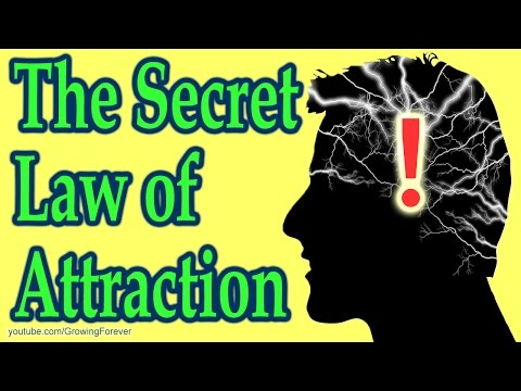 The Secret Law Of Attraction Step You Are Missing. Subconscious Mind Power, Brain Power, Wealth
