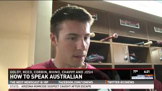 ARIZONA DIAMONDBACKS-HOW TO SPEAK AUSTRALIAN