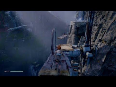 Jedi Fallen Order - Turbine Facility to Windswept Ruins