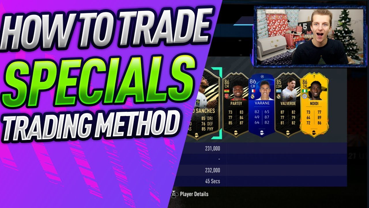 HOW TO TRADE WITH SPECIALS