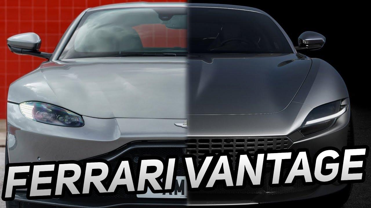 Ferrari Roma Vs Aston Martin Vantage Design Comparison And Exhaust Sound Youtube