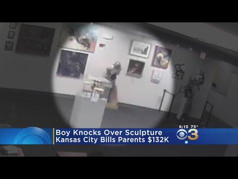Parents Face $132,000 Bill After Boy Breaks Sculpture