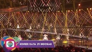 Gambar cover Selfi, Reza, Fildan, Lesty, Rara, Weni, Gabriel - Sabda Cinta, MANTAP! – Konser Raya 24 Luar Biasa