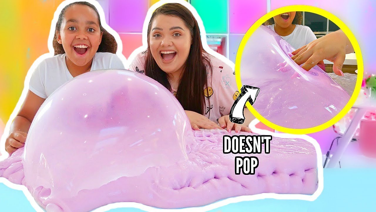 We Made The Thickest Slime In The World! FT Tiana