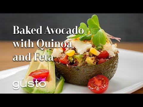 baked-avocados-with-quinoa-and-feta- -the-urban-vegetarian